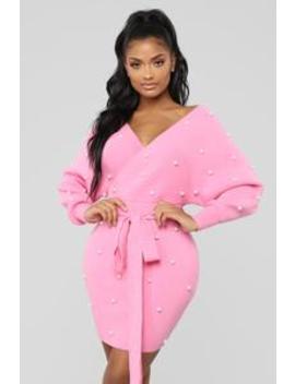 Happy Now Dress   Pink by Fashion Nova