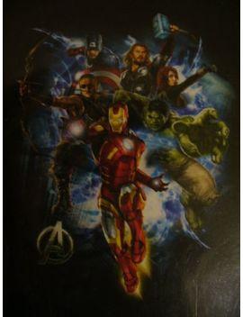 Bioworld Marvel Avengers Men's T Shirt Black Xl by Bioworld
