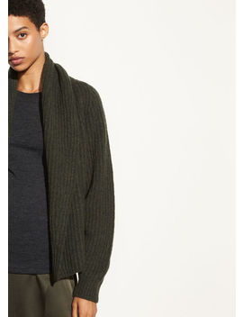 Oversized Shawl Collar Cardigan by Vince