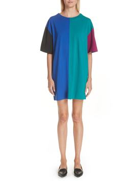 Colorblock T Shirt Dress by Marc Jacobs
