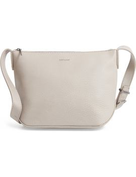 Large Sam Faux Leather Crossbody Bag by Matt & Nat