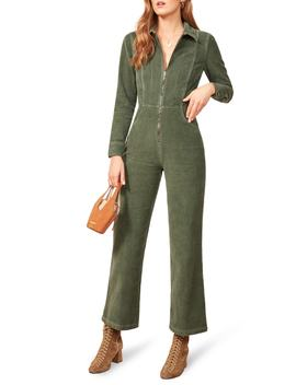 Carolina Corduroy Jumpsuit by Reformation