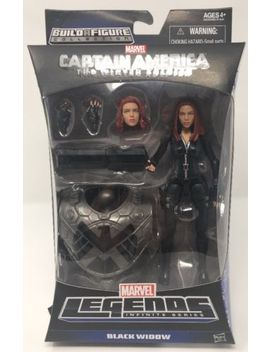 Marvel Legends Black Widow Captain America Mandroid Infinite Series W/ Baf Torso by Hasbro