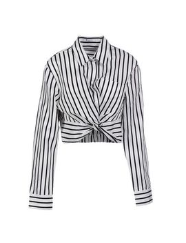 T By Alexander Wang Striped Shirt   Shirts by T By Alexander Wang
