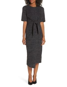Tie Front Midi Dress by Maggy London