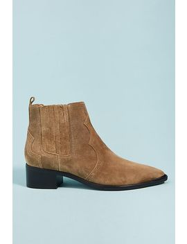 Marc Fisher Yohani Suede Booties by Marc Fisher