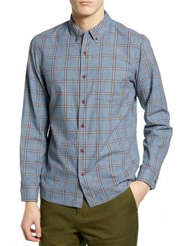 Towns Plaid Sport Shirt by Hurley