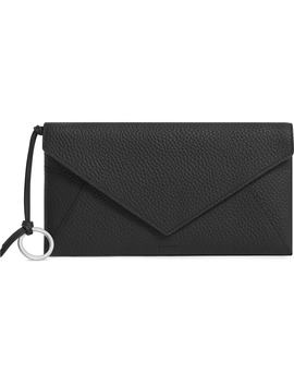 Voltaire Large Envelope Leather Clutch by Allsaints