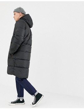 D Struct Long Puffer Jacket Poly by Jacket