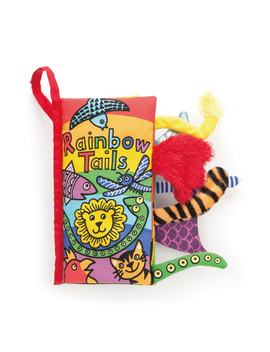 'rainbow Tails' Soft Book by Jellycat