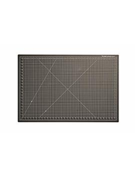 "Dahle Vantage 10673 Self Healing Cutting Mat, 24""X36"", 1/2"" Grid, 5 Layers For Max Healing, Perfect For Cropping, Sewing, & Crafts, Black by Dahle"