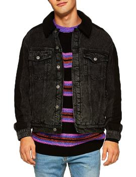 '90s Stripe Classic Fit Sweater by Topman
