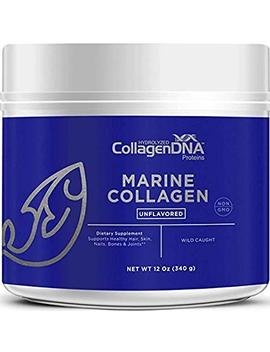 Premium Collagen Peptides From Wild   Caught Snapper | Paleo Friendly, Non Gmo And Gluten Free   Unflavored And Easy To Mix Collagen Powder (Marine 12 Oz) by Matcha Dna