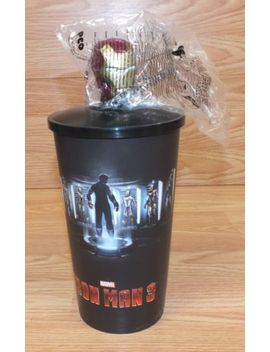 Movie Promotion Marvel Iron Man 3 Large 40 Oz Cup With Iron Man Topper by Ebay Seller