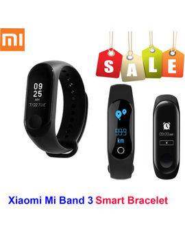 Original Xiaomi Mi Band 3 Smart Bracelet Touch Oled Wristband Heart Rate Monitor by Xiaomi