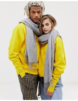 Collusion – Unisex Filtscarf by Asos