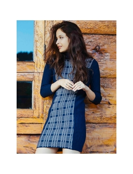 Rigby Turtleneck Dress by Wet Seal