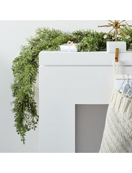 Faux Cypress Garland by West Elm