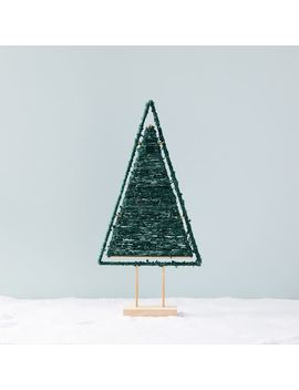Wool Wrapped Tree Object by West Elm