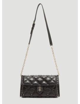 Candystud Shoulder Bag In Black by Valentino
