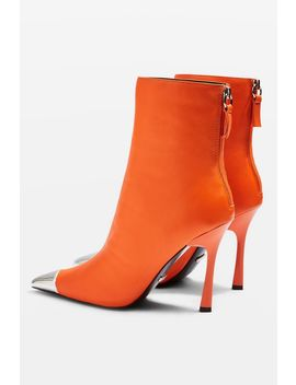 Hypnotise Leather Ankle Boots by Topshop
