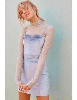 Antoinette Velvet Mini Dress by Free People