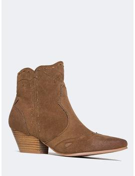 Western Ankle Boot by Zooshoo