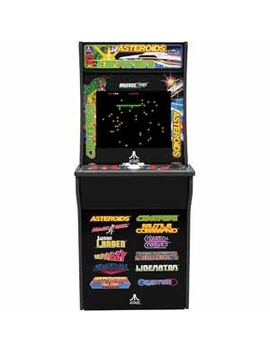 Arcade 1 Up   Deluxe Edition 12 1 Arcade Cabinet With Riser Assembly Required by Arcade 1 Up