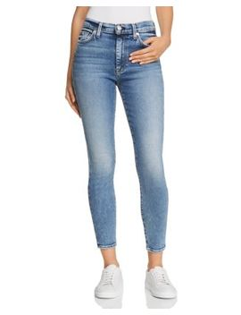 High Waist Ankle Skinny Jeans In Muse by 7 For All Mankind
