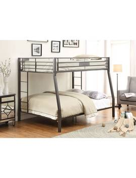 Limbra Black Full / Queen Bunkbed by Generic