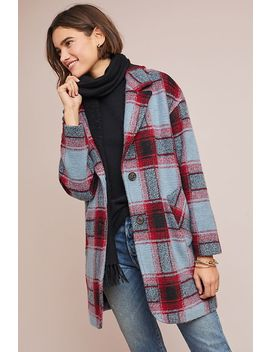 Riley Plaid Coat by The Korner
