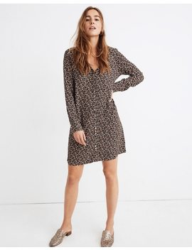 Button Front Mini Dress In Petite Blooms by Madewell