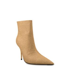 Liker Stiletto Heel Glitter Ankle Boots   10.5cm by Jessica Buurman