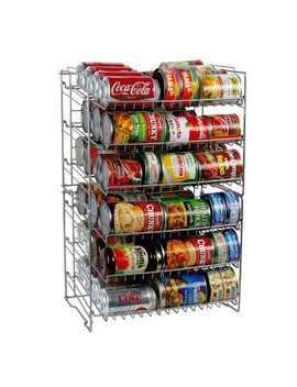 Atlantic Double Can Rack Silver by Atlantic