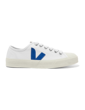 Wata Organic Cotton Canvas Sneakers by Veja