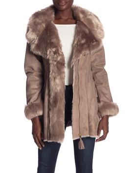 Faux Fur Jacket by Via Spiga