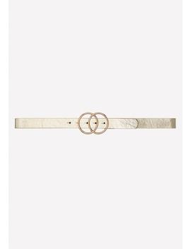Double Ring Belt by Bebe