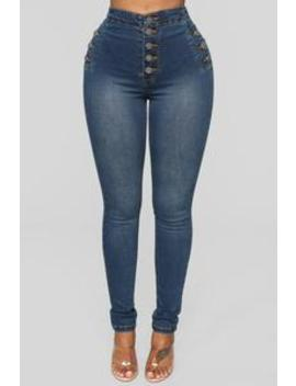 Can't Live Without You Skinny Jeans   Dark Denim by Fashion Nova