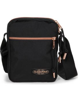 The One Goldout Canvas Crossbody Bag by Eastpak