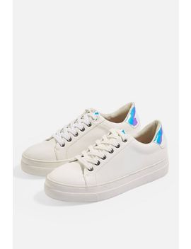 Candy Lace Up Casual Trainers by Topshop