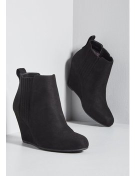 Wedge You Rather? Bootie by Modcloth