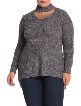 Marled Gigi Pullover Sweater (Plus Size) by Planet Gold