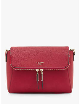 Dune Dorothea Cross Body Bag, Red by Dune