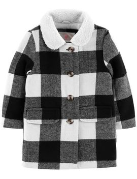 Buffalo Check Faux Wool Jacket by Oshkosh