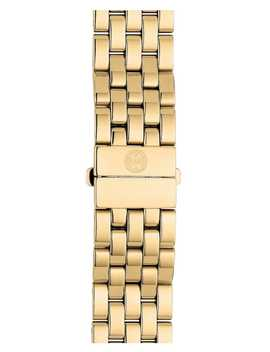 Urban Mini 16mm Gold Plated Bracelet Watchband by Michele