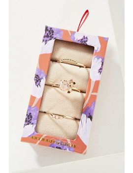 Genevieve Stacker Ring Gift Set by Anthropologie