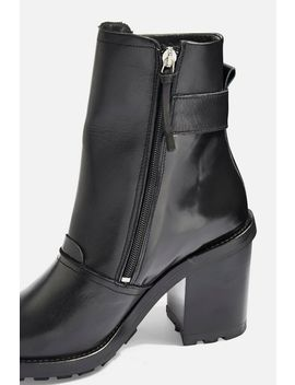 Harley Flame Hiker Boots by Topshop