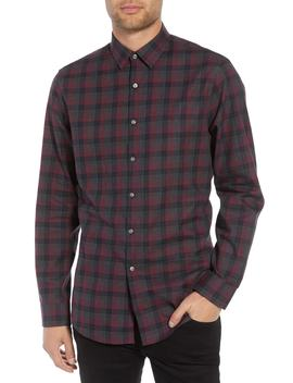 Check Flannel Shirt by Calibrate