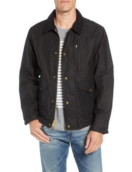 Short Mile Marker Waxed Cotton Jacket by Filson