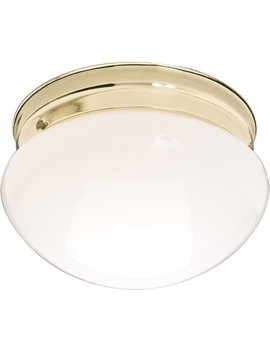 "Essentials 7.5"" Wide Iron Flush Mount Ceiling Light by Maxim Lighting"